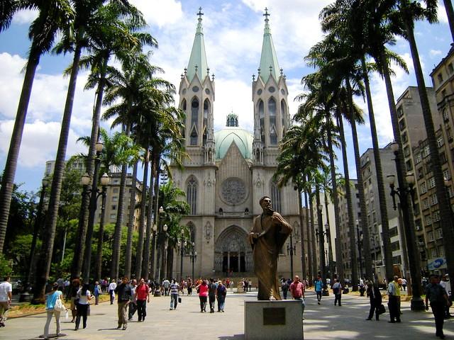 Catedral, Praça da Sé, Centro, São Paulo, Brazil