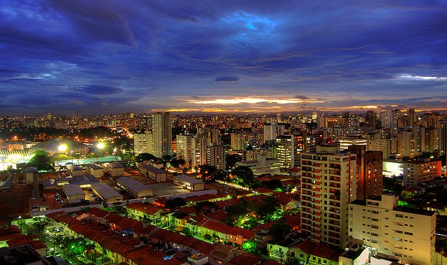 Photo of São Paulo at Night, Brazil