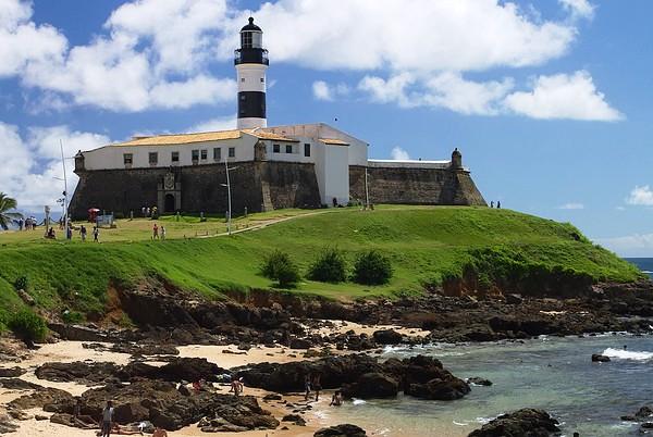 Forte de Santo Antônio da Barra, Praia do Farol da Barra, Salvador da Bahia