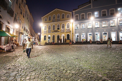 Photo of Largo do Pelourinho at night, Salvador da Bahia