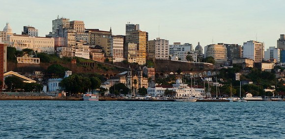 View of Salvador da Bahia