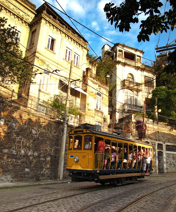 Bonde, Santa Teresa, Rio de Janeiro, Brazil