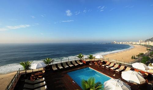 Photo of Copacabana from Hotel Porto Bay Rio