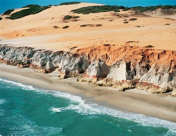 Desert Beach, Canoa Quebrada, Brazil