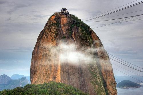 Going Up the Sugarloaf, Rio de Janeiro
