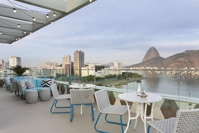 Flamengo and Sugarloaf from Yoo2 Rio de Janeiro by Intercity Hotel, Rio de Janeiro, Brazil
