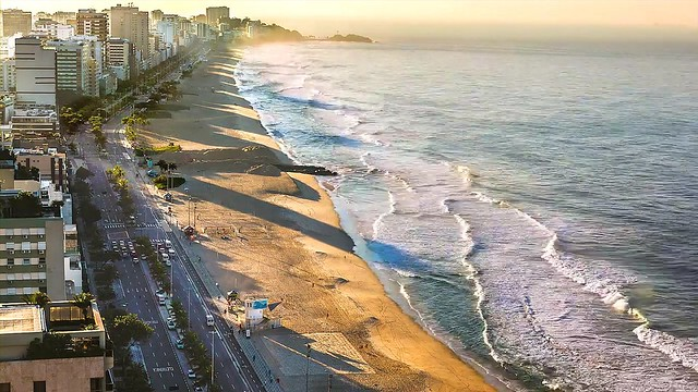Ipanema and the Atlantic Ocean, Rio de Janeiro