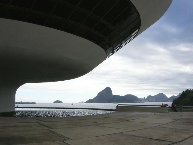 MAC Museu do Arte Contemporânea de Niterói, Rio de Janeiro, Brazil