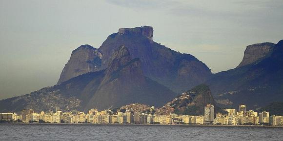 Pedra da Gávea and Copacabana, Rio de Janeiro