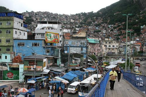 Photo of Favela Rocinha in Rio de Janeiro