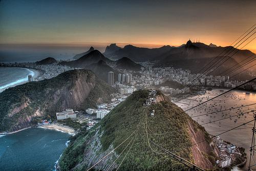 Photo of Rio de Janeiro from Pão de Açúcar