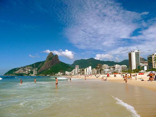 Photo of Ipanema Beach in Rio de Janeiro