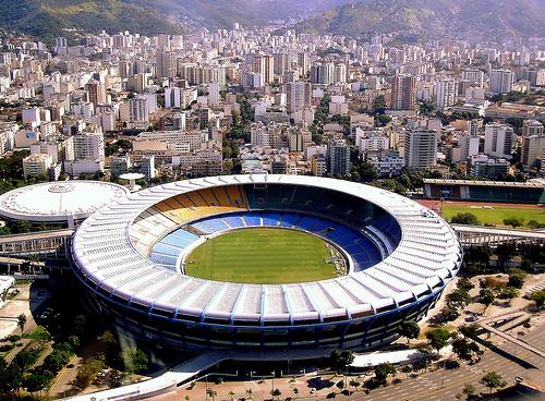 Photo of Maracana Stadium in Rio de Janeiro