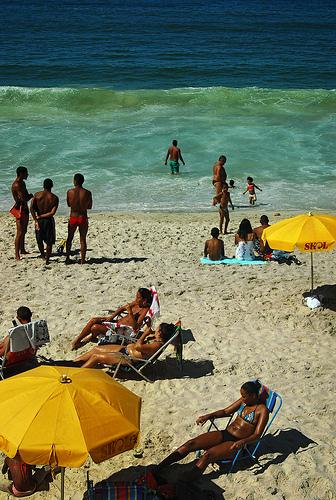 Photo of Copacabana in Rio de Janeiro