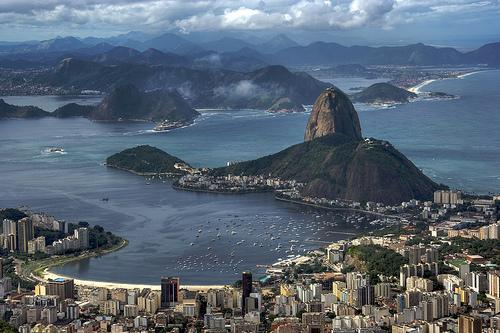 Rio de Janeiro and Sugarloaf from Corcovado