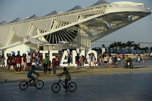 View of Museu do Amanha (Museum of Tomorrow), Rio de Janeiro