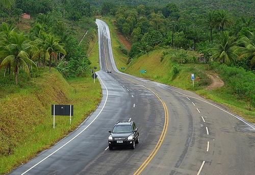 Estrada em Bahía