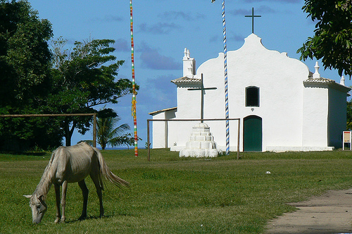 Photo of the Church in Trancoso