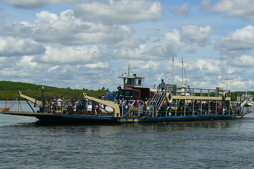 Photo of the Ferry in Porto Seguro, Brazil