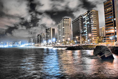 Photo of Fortaleza at Night