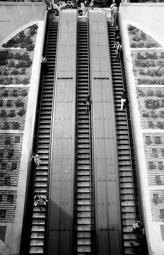 Photo of Dupont Circle Escalator in Washington DC