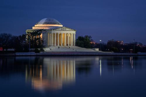 Jefferson Memorial at Dusk, Washington, D.C.