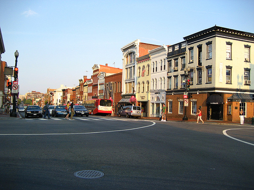 Photo of Georgetown in Washington, D.C.