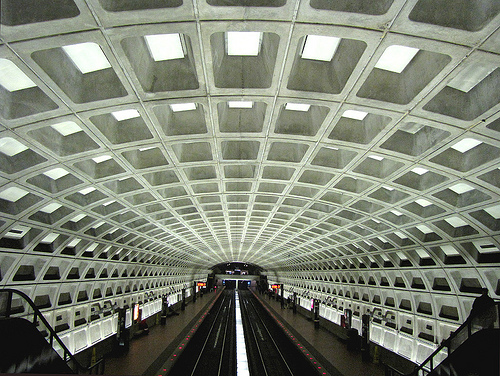Photo of Washington, D.C. Metro Station
