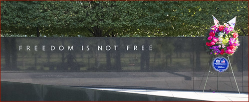 'Freedom Is Not Free', Korean War Veterans Memorial, The National Mall, Washington, D.C.