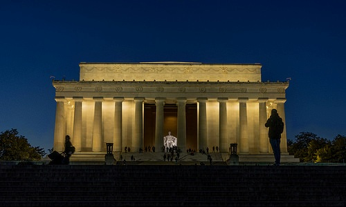 Lincoln Memorial at Dusk, Washington, D.C.