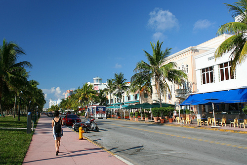Photo of Ocean Drive, South Beach, Miami