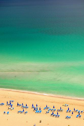 Beach at Sunny Isles, North Miami Beaches, Florida