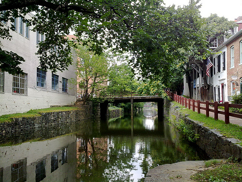 Photo of P & O Canal in Georgetown, Washington, D.C.