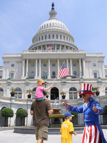 Photo of US Capitol in Washington, D.C.
