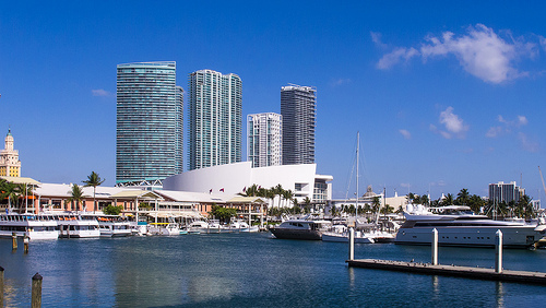 Bayside Marketplace, Downtown Miami, Florida