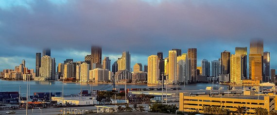 Downtown Miami at Sunrise