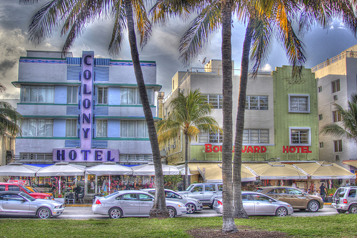 Photo of Ocean Drive, Art Deco District, SoBe, Miami Beach, Florida