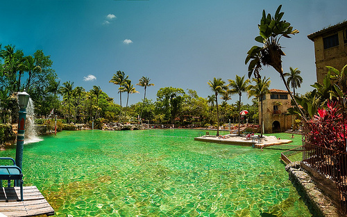 Venetian Pool, Coral Gables, Miami, Florida