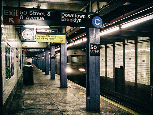 50th St. Subway Station, New York