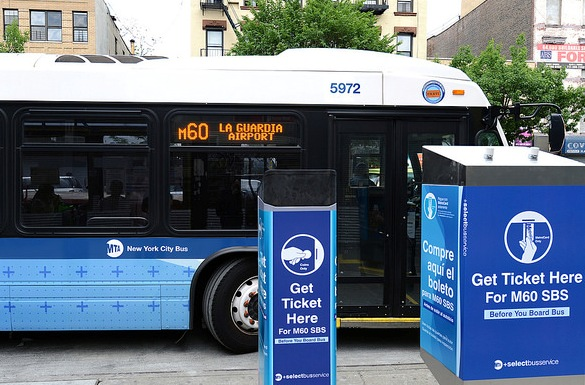 M60 Select Bus Service to La Guardia Airport, New York
