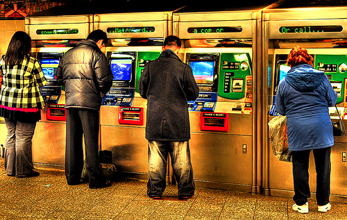 Photo of New York City Subway Vending Machines