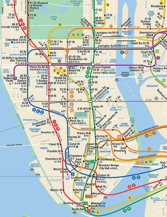 New York City Subway Map