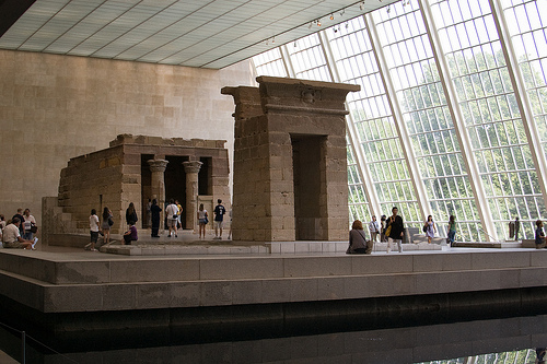 New York, Dendur Temple, The Metropolitan Museum of Art