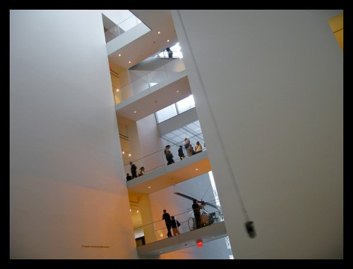 Photo of MoMA Museum of Modern Art in New York
