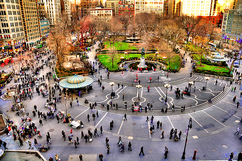 Photo of Union Square. Manhattan, New York