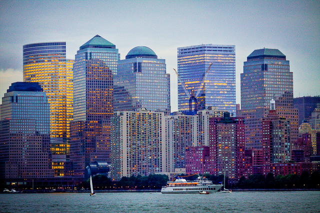 Photo of New York, Lower Manhattan from the Bay