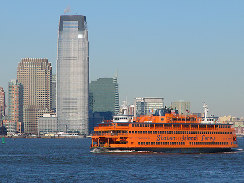 Photo of The Staten Island Ferry and Hoboken, New York
