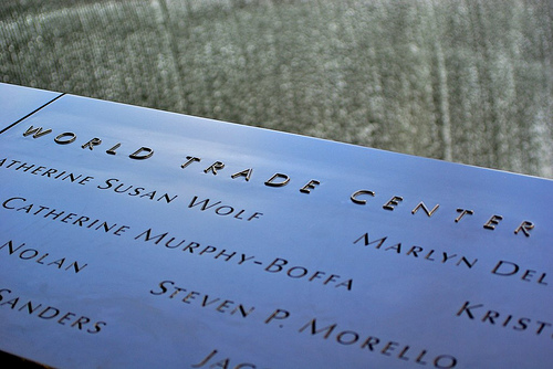 Photo of 9/11 Memorial in New York