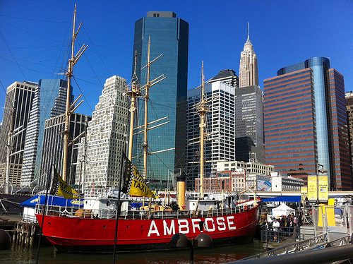 Ambrose Ship at South Street Seaport, Downtown Manhattan