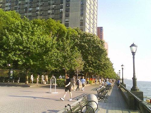 A Photo of Hudson Riverfront, Downtown, New York